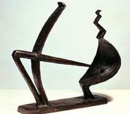 Giacometti-Man&Woman