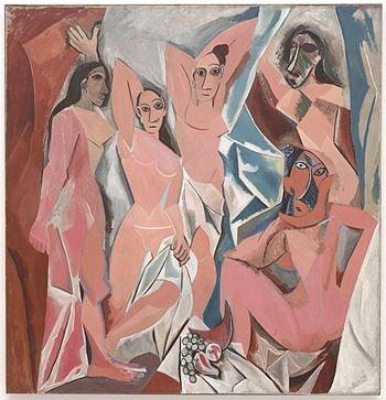 Picasso-NhungCoGaiTreOAvignon