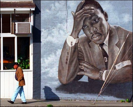 Martin Luther King Mural - James Crespinel