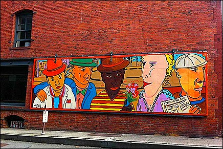 Seattle Mural - Bylly King Mural - Yesler and Western