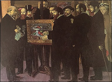 Maurice Denis Rend Hommage a Cezanne