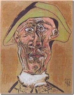 Picasso-HarlequinHead