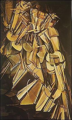 Marcel Duchamp - Nude Descends a Staircase - 1915
