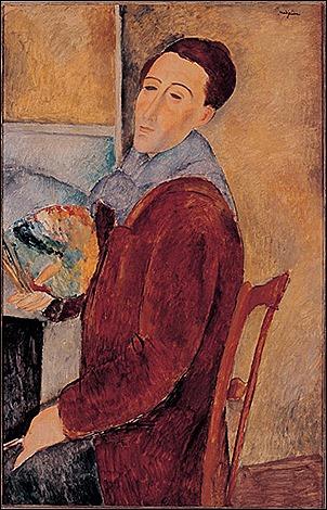 pic 2 Self Portrait Amedeo Modigliani