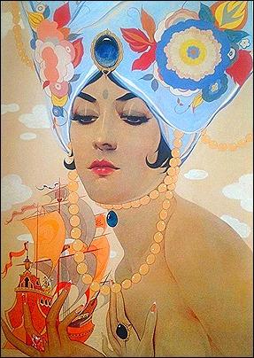 scheherazade by alberto vargas - 1921