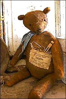 ancient teddy bear - tostaya