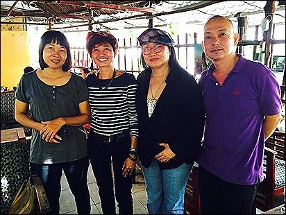 Pic 3 và nhà văn Nguyễn Ngọc Tư