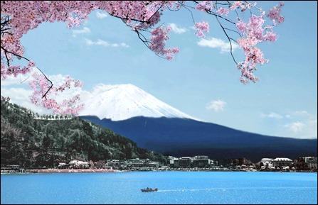 Pic 8 Hồ Kawaguchiko và núi Phú Sĩ