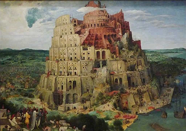 The Tower of Babel_Pieter Breugel the Elder